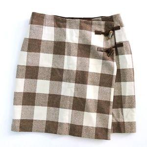 Pendleton Woolen Mills Oregon Tweed Plaid Skirt 14